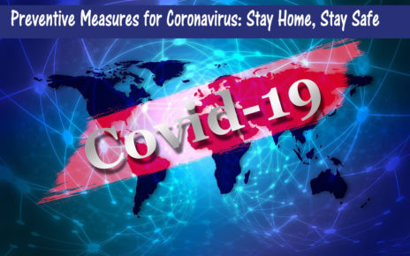 Preventive Measures for Coronavirus Stay Home