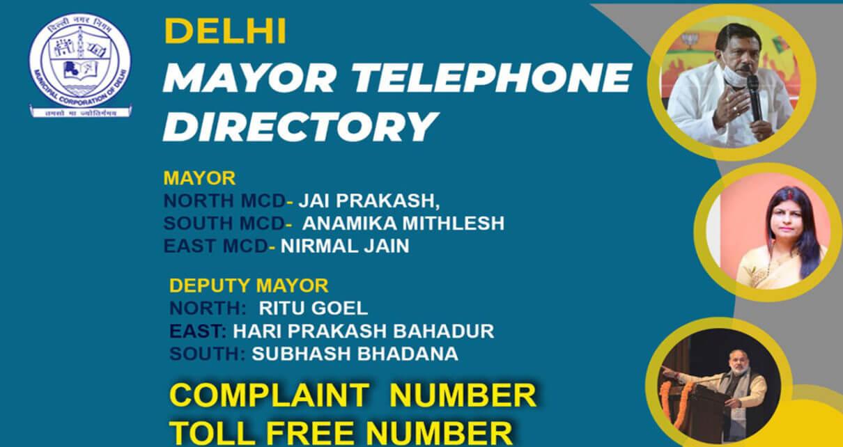 mcd mayors telephone directory
