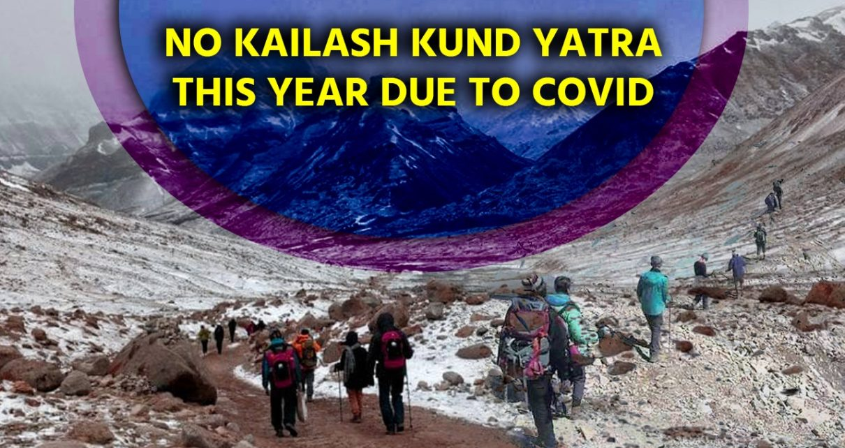 No Kailash Kund yatra this year due to COVID, only 'holy mace' procession to be allowed