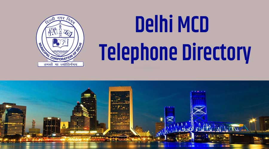 MCD Mayor's and Councilior's Telephone DIrectory